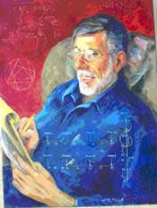 Author of an objective way to higher consciousness. Russell A. Smith portrait, painted by Detha Watson.